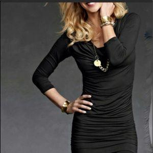 Black CAbi Shimmy Tunic Dress